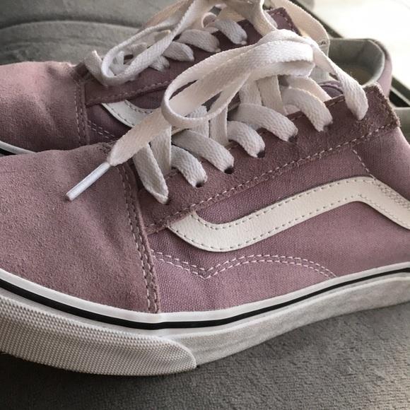 Vans Shoes - Old skool vans in sea fog - ONLY WORN ONCE 3934e18d4
